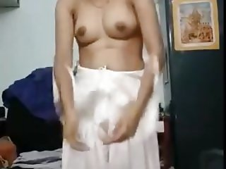 Indian Teen - Extremely Hairy Pussy