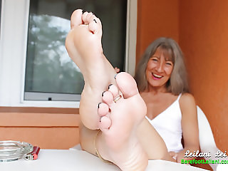 Foot Tease while Smoking