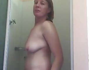 Playing with myself in shower