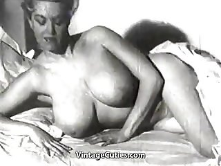 Chick with Huge Natural Juggs (1950s Vintage)