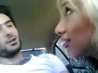 IRAN Hot Iranian Chick does Blowjob in the Car MA