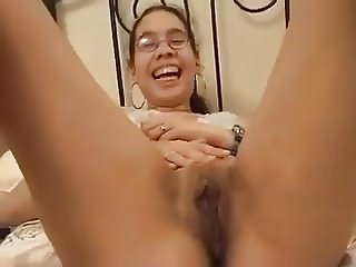 Amateur - Cute Asian Glasses Teen Fucked & Facial