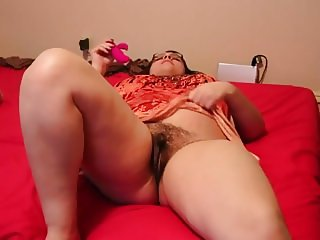 PLEASURING BIG FAT HAIRY PUSSY