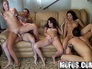 Real Slut Party - Orgy Party Time  starring  Candy Cady and