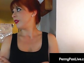 Step Daughter Penny Pax Fucks Her Step Dad's Fat Hard Cock!