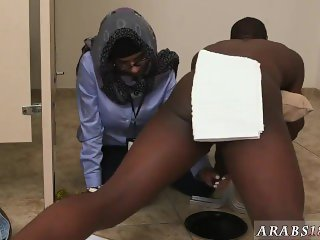 White heels and big dick office blowjob