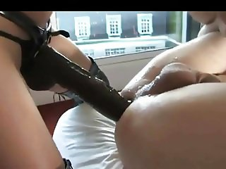 Sexy Femdom Double Fisting Deep Pounding