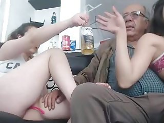 soon sex with 2 girl a men of 75 year