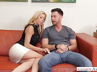 Cougar Creampies with sneaky Alexis Fawx - Naughty America