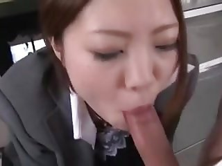 Japanese office blow