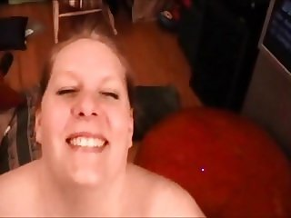 Blowjob After Threesome with Cumshot