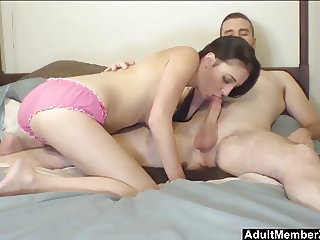 HomeMade Busty Amateur Couple On Cam