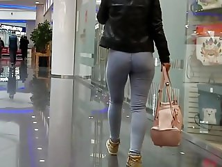 russian hottest ass in tight jeans