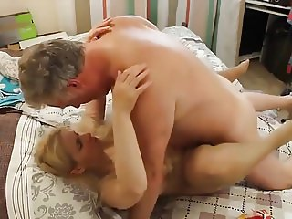 Russian woman cum on empties