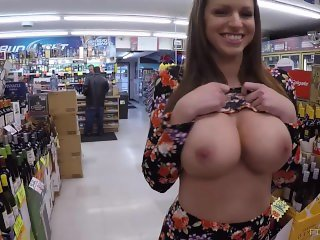 Brooklyn Big Tits Nude In The Store on FTVMilfs.com