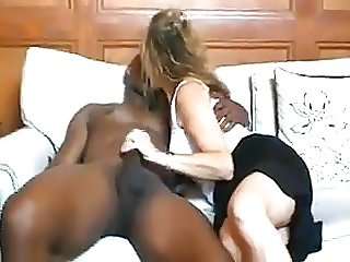 Wife and Black Trainer