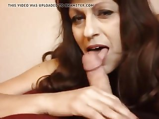 horny mom seduces  son