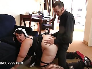 Fucking the gorgeous house maid