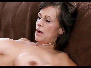 Experienced milf fucks young guy