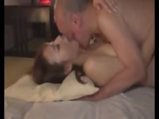 Old Man And Beautiful Japanese Young Teen