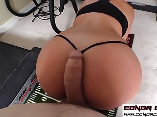 ConorCoxxx-Assercise with Kate England POV taboo assjob
