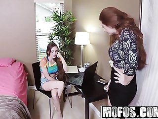 Mofos - Busted Babysitters - Babysitter Caught Fingering Pus