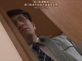 Jerkoff Junkie: Japanese Loser's Wife is Taken Over and Over by his Friends