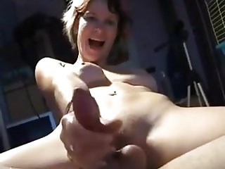 double dildo pegging and cumming
