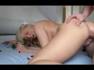 Hot German babe gets anal