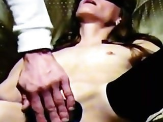 Homemade amateur tied up blindfolded slutstreched out pussy