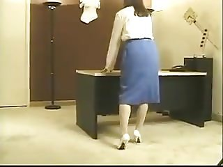 Vintage Asian office strip