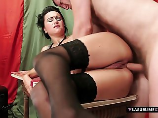 LaSublimeXXX Leyla Black gets hard big cock in the ass