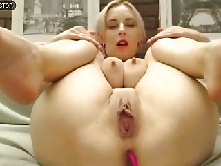 Self-sucking tits squirting orgasm