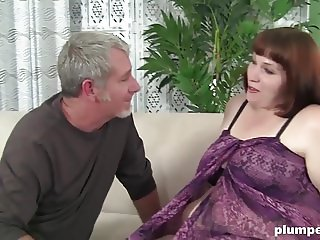 Huge Fat Girl enjoys sucking and fucking to the max