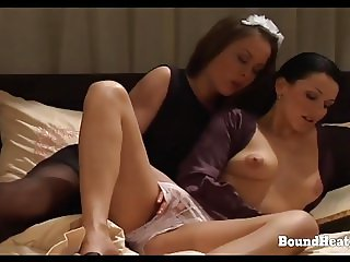 On Consignment 3: Maid Licks And Fingers Mistresses Pussy