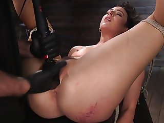 Squirt Whore Lilith Luxe Coerced to Cum from Pain