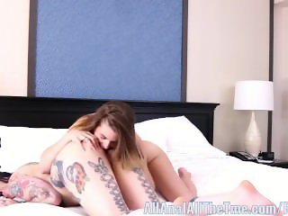 Step Sister Kendra Lynn Eats Draven's Ass Only at AAT!