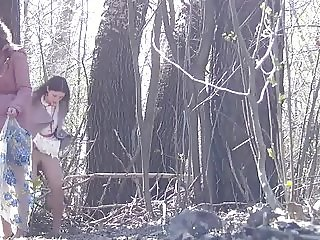 Peeing Outdoors Hidden Camera 1