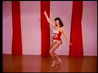Betty Page Party Doll