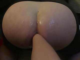 Mistress POV 15 - Pumping and fisting slaves swollen anus