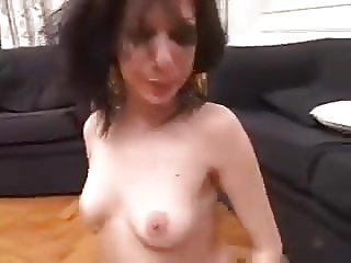 BRUNETTE FACEFUCKED AND ABUSED