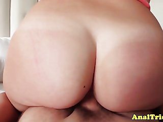Amateur girlfriend assfucked doggystyle