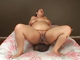 BBW Fat Facesitting Punishment