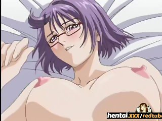 Nerdy girl with glasses takes it secretly at the beach - Hentaixxx