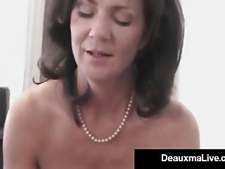 Horny Cougar Deauxma POV Mouth Fucks A Guy & Gets A Cum Bomb