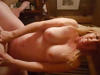 Real wife pleased her man