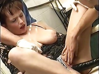 Big Hanging Flopping Tits Mommy  DP Pissing  Anal