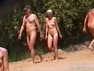 Nude Beach Encounters Compilation