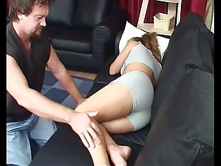 Dad and hot daughter