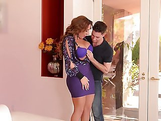 Busty Rich Milf gets a Balls Deep Fuck from her Young Playbo